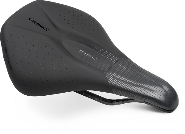 S-WORKS POWER W/MIMIC SADDLE WMN BLK 143