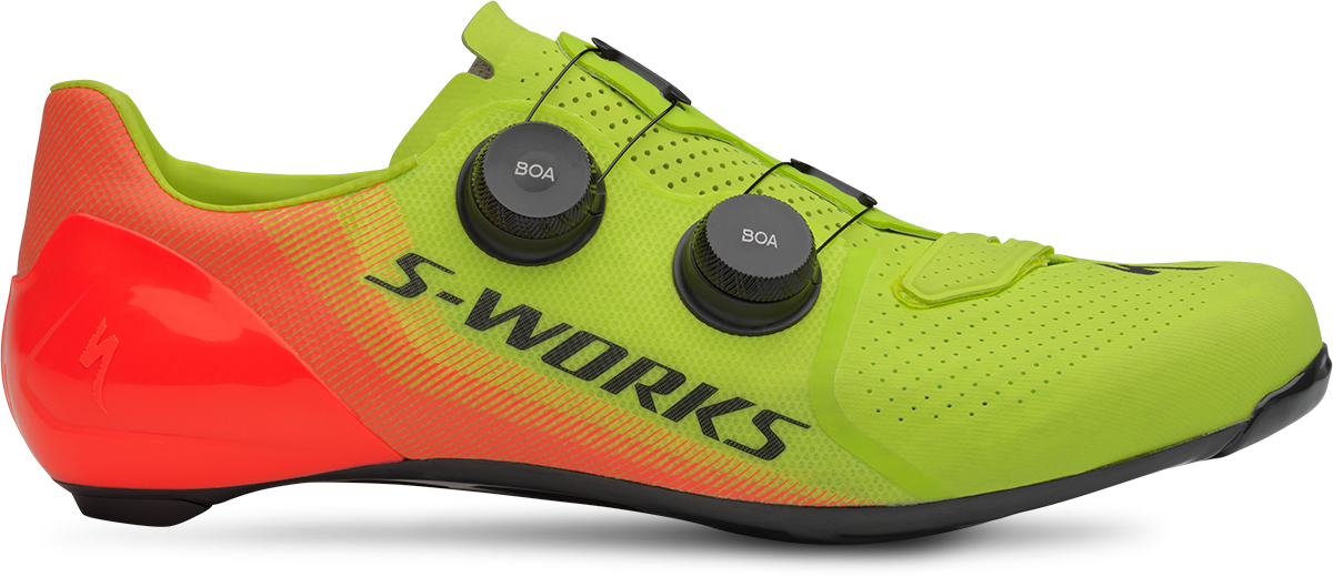 LIMITED S-WORKS 7 ROAD SHOE HYPER/ACID LAVA