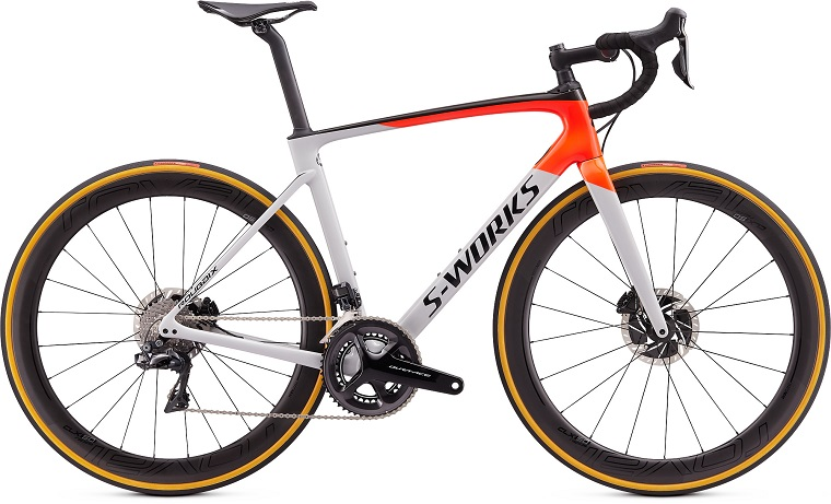 S-WORKS ROUBAIX DI2 DOVGRY/RKTRED/BLK 44