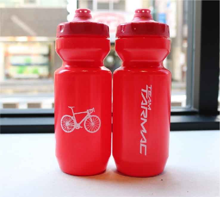 22 OZ PURIST FIXY BOTTLE TARMAC RED