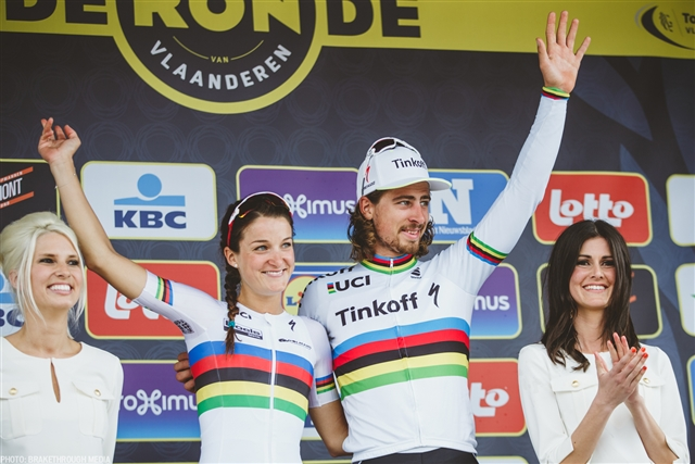 RONDE VAN VLAANDEREN | DOUBLE WORLD CHAMPION DAY