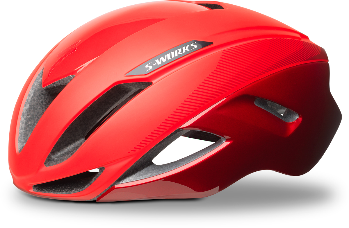 S-WORKS EVADE II HELMET  ROCKET RED/CANDY RED ASIA L