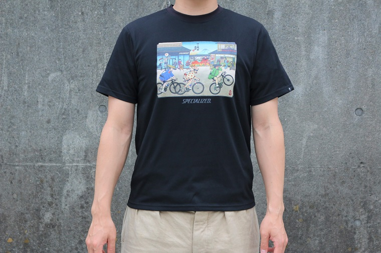 SPECIALIZED PODIUM TEE TOUR DE EDO BLK XS